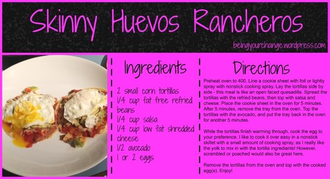 skinny huevos rancheros recipe