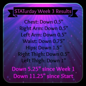 STATurday Week 3