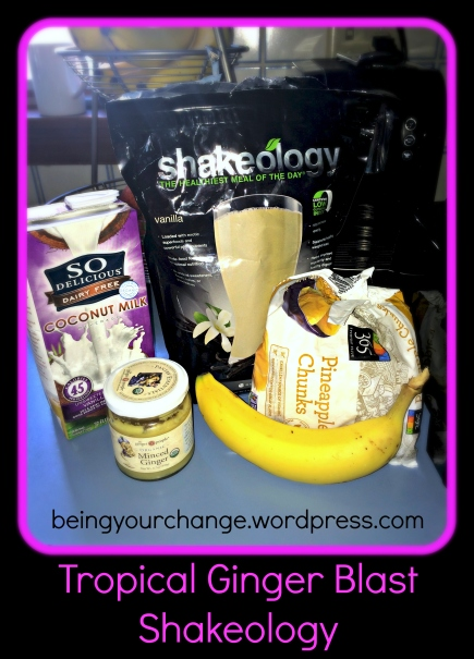 tropical ginger blast shakeology